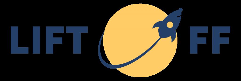Lift-off logo